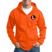 LH - Essential Fleece Full Zip Hooded Sweatshirt Thumbnail