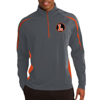 LH - Sport Wick ® Stretch 1/2 Zip Colorblock Pullover Thumbnail