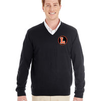 LH - Harriton Men's Pilbloc™ V-Neck Sweater Thumbnail